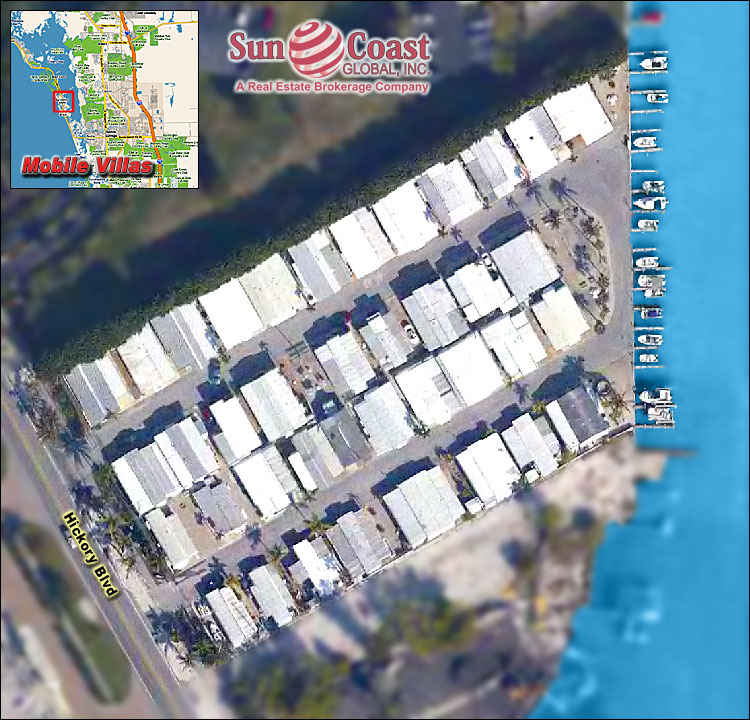 Mobile Villas Overhead Map